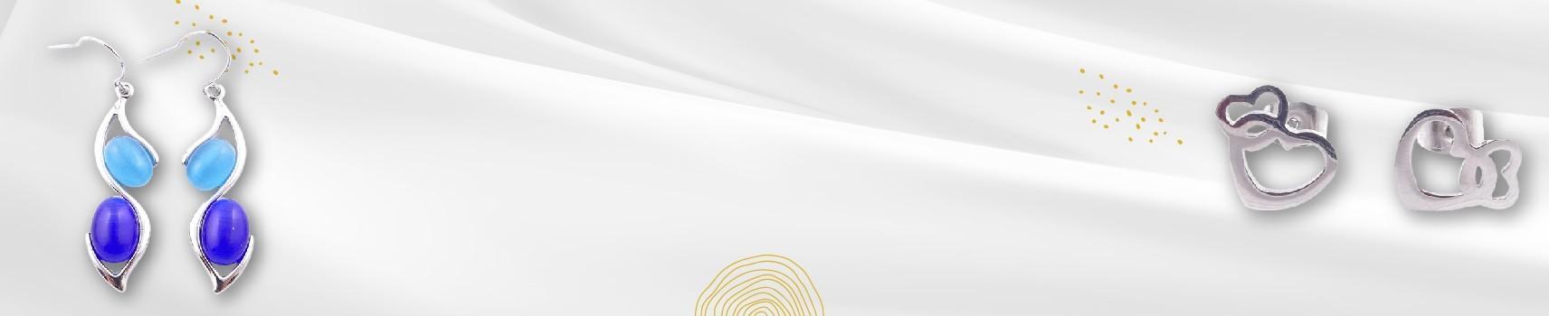 Colección Aritzi - Pendientes de Mujer en Plata y Acero